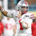 Ohio State QB Justin Fields mock draft