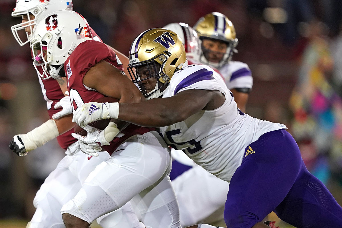 Washington DT Levi Onwuzurike
