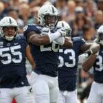 Jayson Oweh Bucs mock draft Penn State