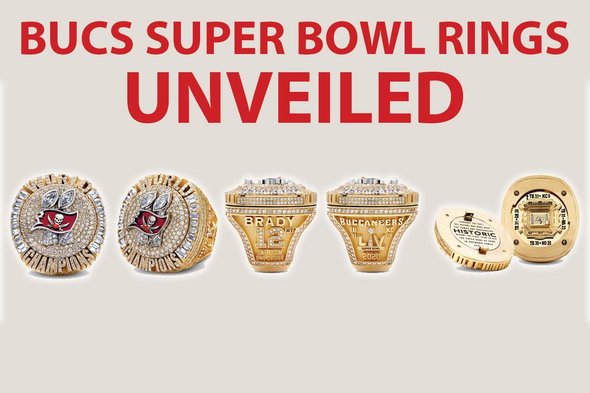 Bucs Super Bowl Rings